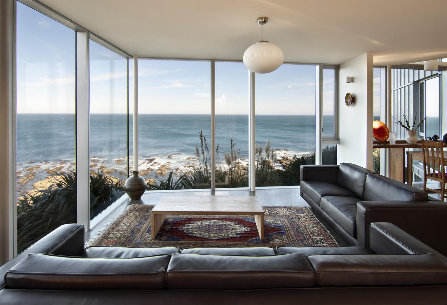 Island Bay House Tennent Brown Architects
