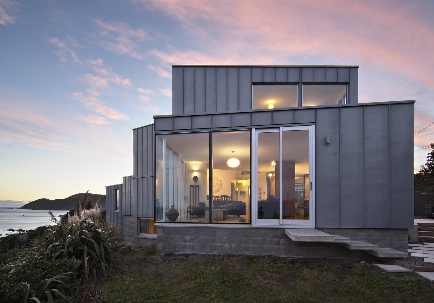 Island bay house tennent brown architects - Bay architecture ...